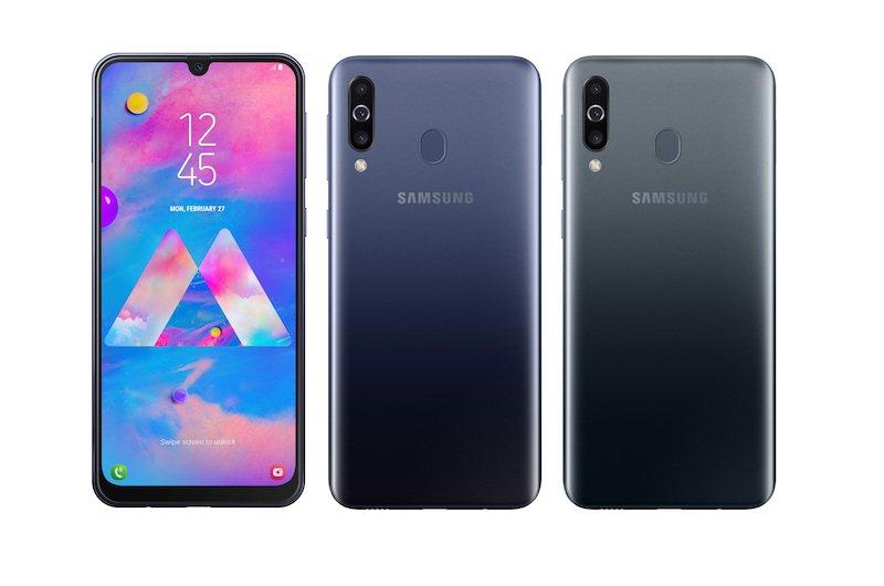 Samsung Galaxy M30 ra mắt, màn hình vô cực, 3 camera sau, bán trên Lazada