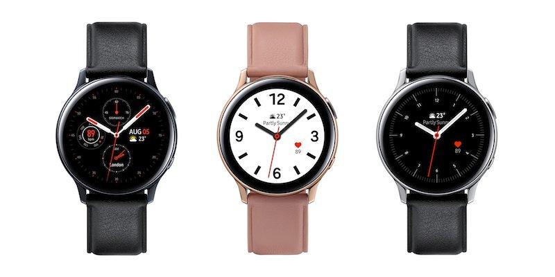 Samsung Galaxy Watch Active2 ra mắt: hai phiên bản kích thước và chất liệu