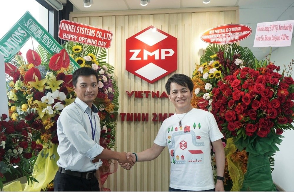 Thành lập công ty giải pháp xe tự lái ZMP Việt Nam