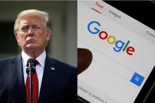 Tổng thống Donald Trump đe dọa giám sát chặt chẽ Google
