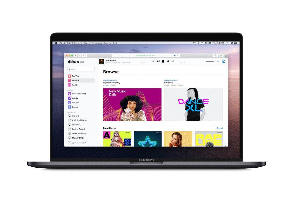 Apple Music ra mắt phiên bản web