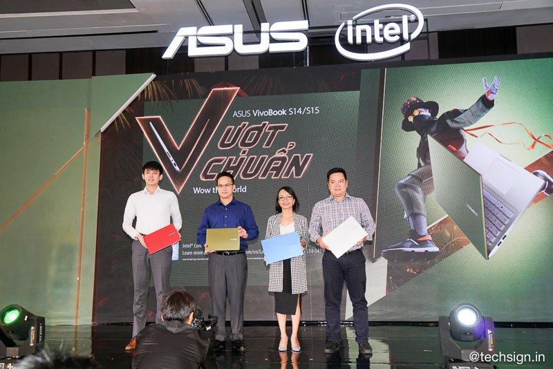 ASUS VivoBook S15/S14 ra mắt, nhiều màu, camera 3D hồng ngoại