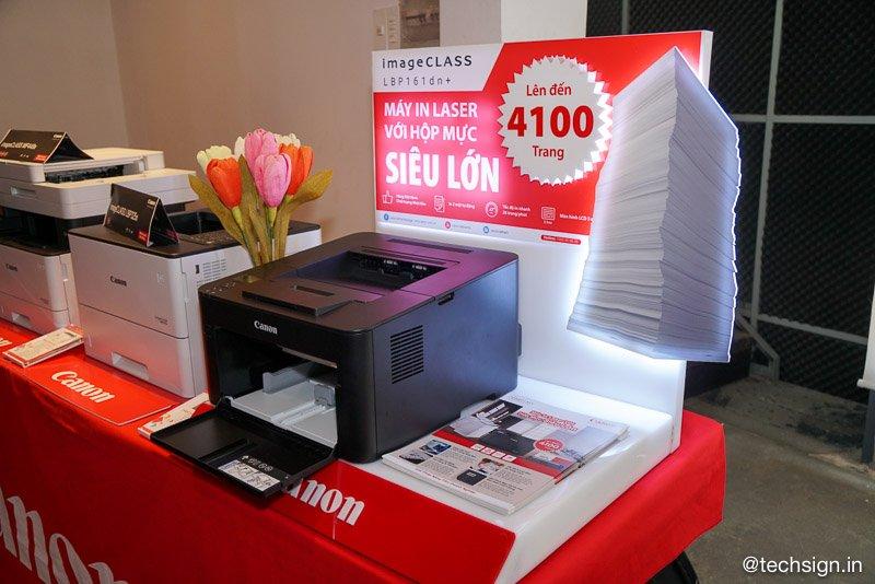 Canon giới thiệu máy in đơn năng dành riêng cho thị trường Việt Nam