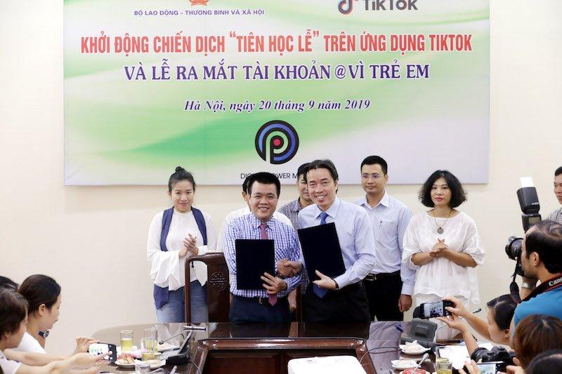 Cục Trẻ em và TikTok nâng cao nhận thức giáo dục, bảo vệ trẻ em