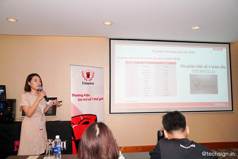 Kingston đánh dấu quay trở lại thị trường Việt với các dòng sản phẩm mới