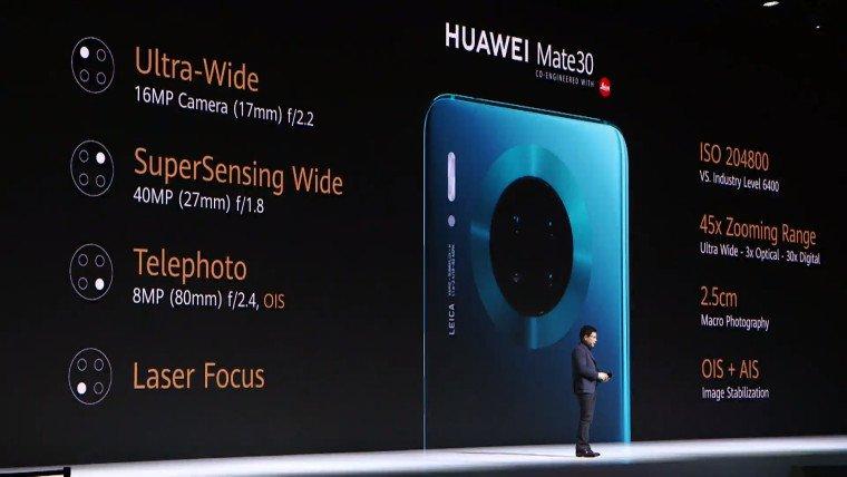 Huawei ra mắt series Mate 30 với màn hình Horizon và thiết kế hoàn toàn mới