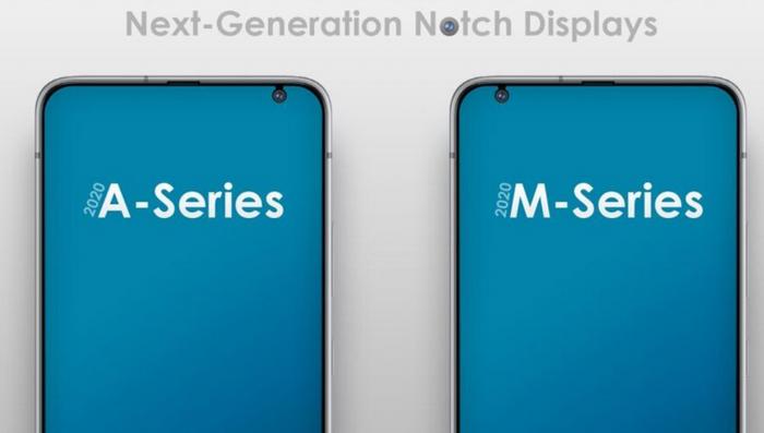 Samsung tiết lộ màn hình notch mới cho smartphone