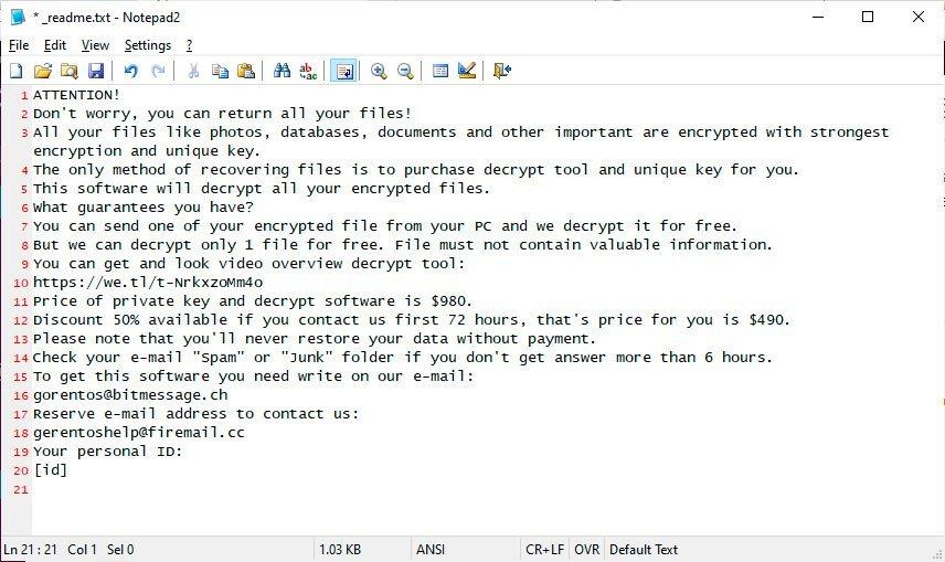 Stop Ransomware: mã độc tống tiền phổ biến nhất hiện nay