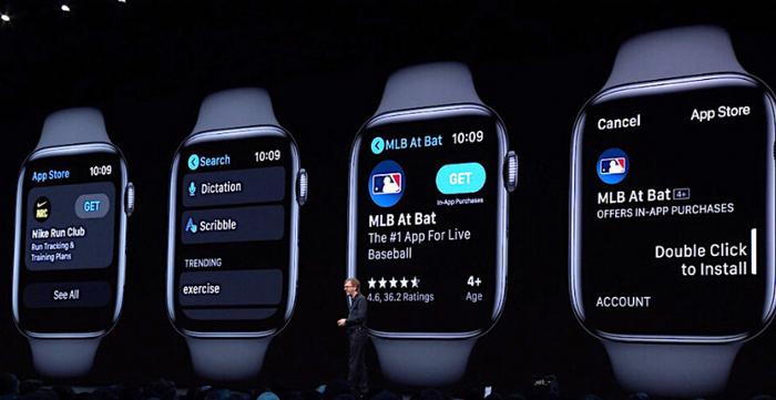 Táo Khuyết hỗ trợ watchOS 6 cho Apple Watch Series 3 và 4