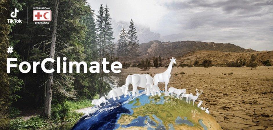 TikTok hợp tác IFRC chống lại biến đổi khí hậu