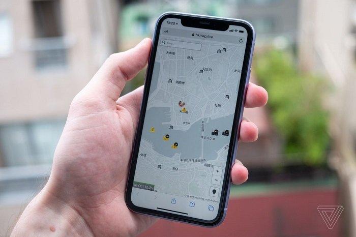 Apple gỡ ứng dụng bản đồ theo dõi biểu tình ở Hồng Kông khỏi App Store