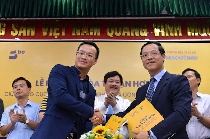 Be Group hợp tác cùng Tổng cục Giáo dục Nghề nghiệp Việt Nam