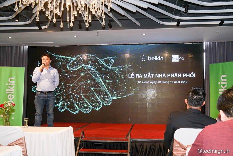 Belkin công bố MeKo là nhà phân phối và bảo hành chính hãng