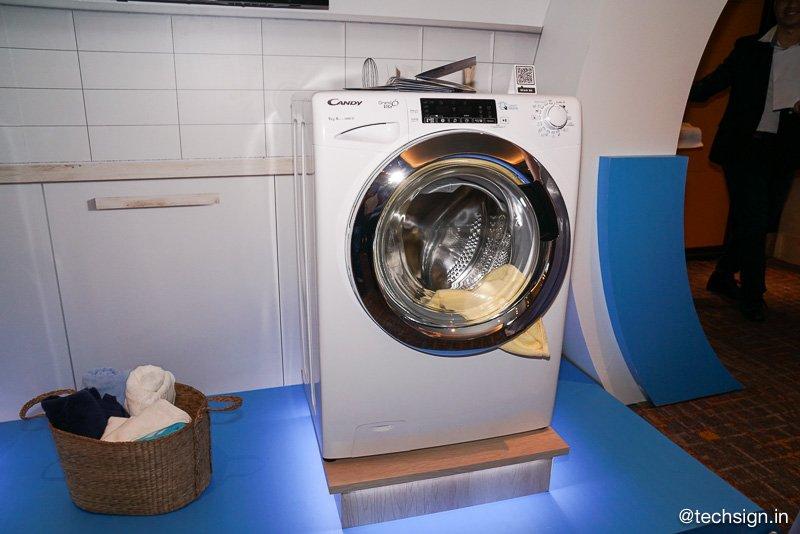BMD giới thiệu dòng máy giặt Rapido' từ thương hiệu Candy