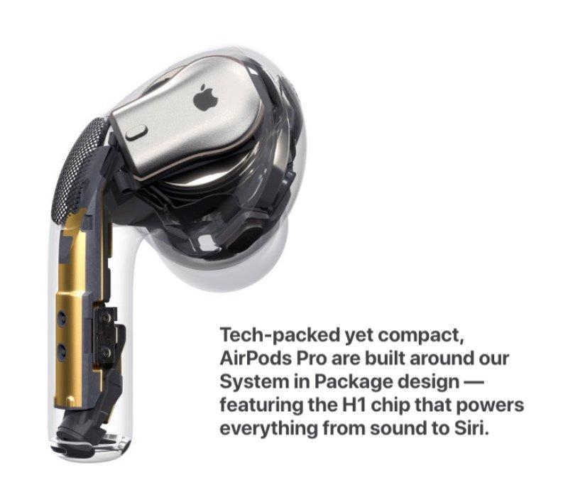 Apple chính thức công bố AirPods Pro, bán ra từ ngày 30/10