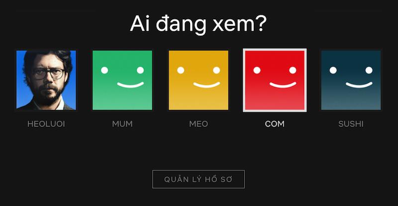 Hướng dẫn đổi ngôn ngữ sang Tiếng Việt trên Netflix