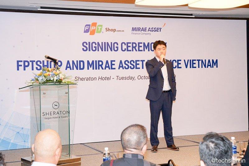 FPT Shop hợp tác Mirae Asset Finance Vietnam triển khai chương trình trả góp nhanh chóng