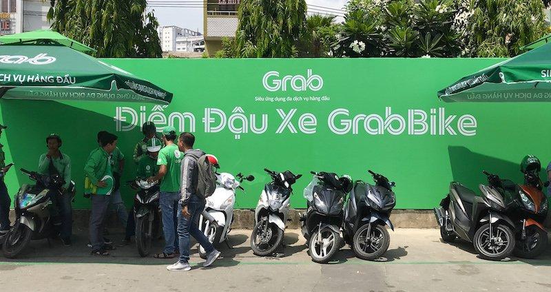 Grab thử nghiệm khu vực đón trả khách GrabBike tại Bến xe Miền Đông