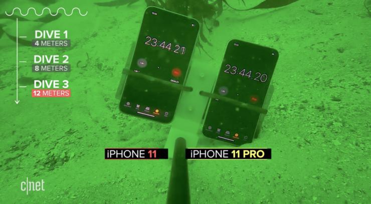 iPhone 11 và 11 Pro có khả năng chống nước vượt xa quảng cáo