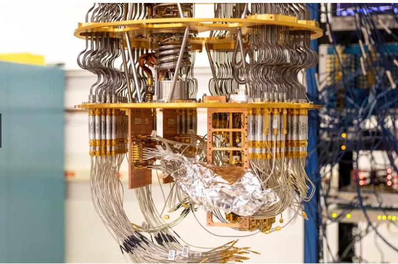 Hình ảnh hệ thống máy tính lượng tử của Google