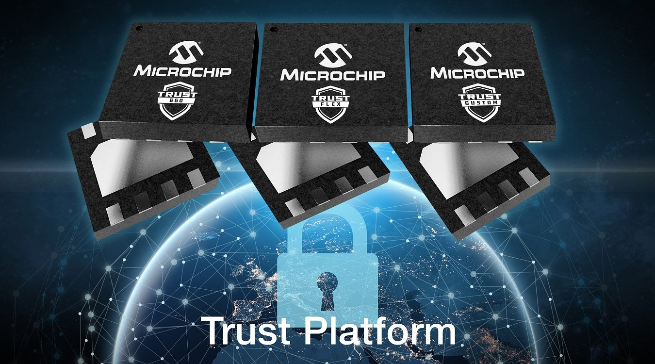 Microchip tung giải pháp bảo mật IoT bằng phần cứng
