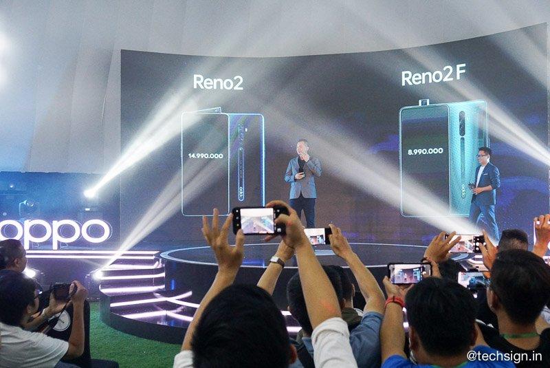 OPPO Reno2 và Reno2 F chính thức, bán từ 26/10, giá 15 và 9 triệu đồng