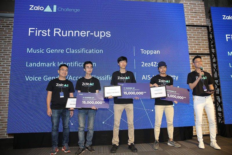 Tái khởi động cuộc thi trí tuệ nhân tạo Zalo AI Challenge 2019