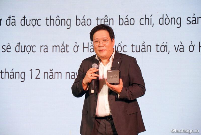 LG giới thiệu 4 dòng tai nghe Bluetooth LG Tone, giá từ 900 ngàn, bán độc quyền tại Thế Giới Di Động