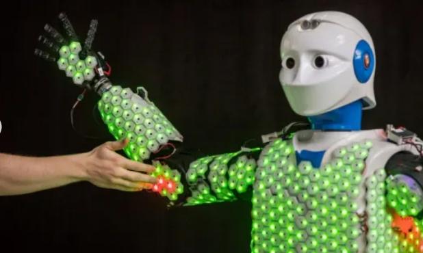 Trong tương lai, Robot sẽ có da nhân tạo và hệ thống cảm giác như con người