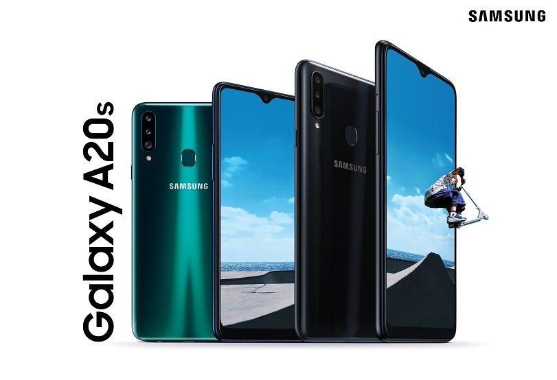 Samsung ra mắt Galaxy A20s: 3 camera, sạc nhanh siêu tốc