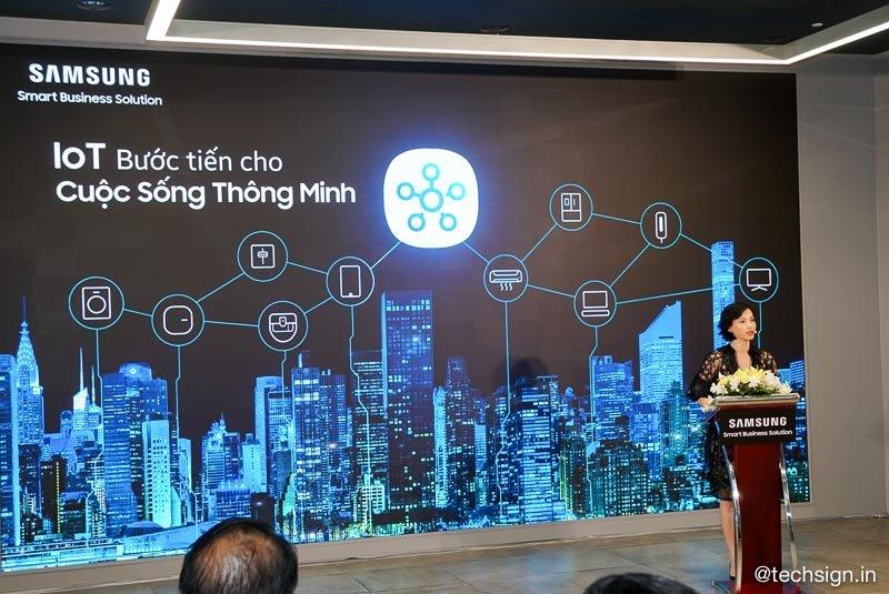 Samsung giới thiệu gói Giải pháp Thông minh Smart Solutions cho gia đình và tòa nhà