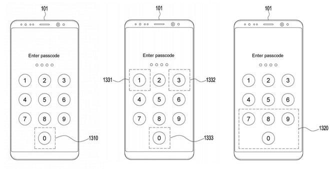 Điện thoại Samsung trong tương lai có thể quét vân tay khi nhập mã pin