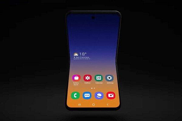 Rò rỉ thông tin smartphone màn hình gập dạng vỏ sò của Samsung