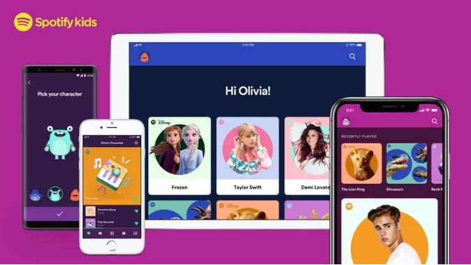 Spotify giới thiệu ứng dụng Spotify Kids dành riêng cho trẻ em