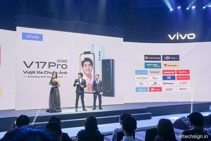 Vivo V17 Pro ra mắt, camera selfie kép trượt lên, giá 9,99 triệu đồng