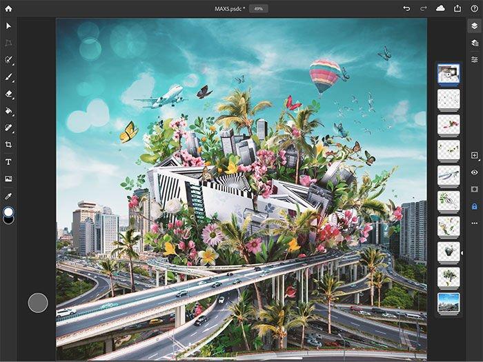 Phiên bản Adobe dành cho iPad đã chính thức ra mắt