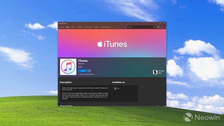 Apple muốn phát triển ứng dụng thay thế iTunes trên Windows 10