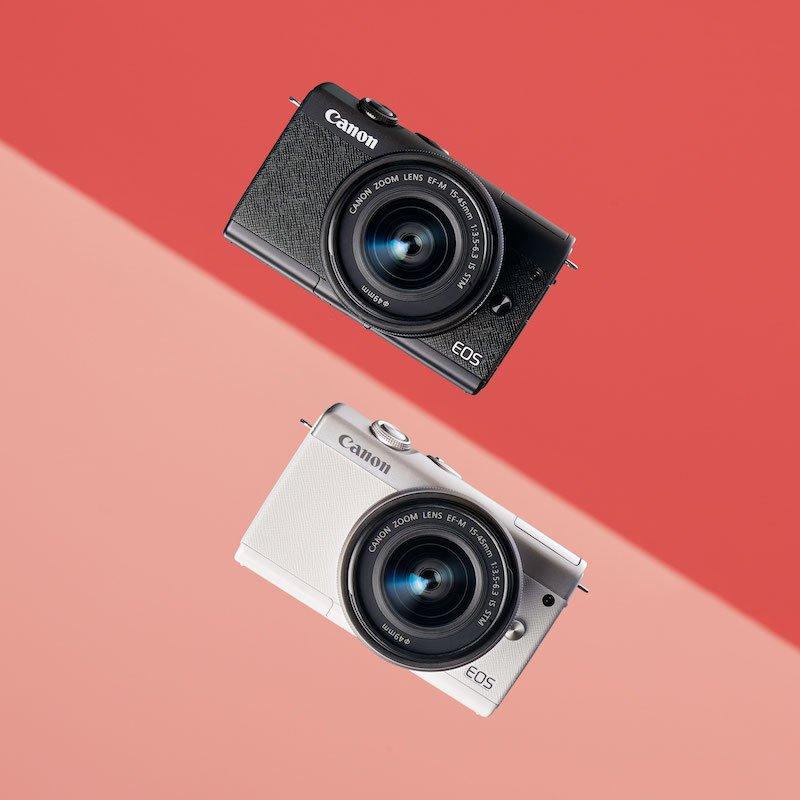 Canon EOS M200 lên kệ, nhấn mạnh chia sẻ lên mạng xã hội