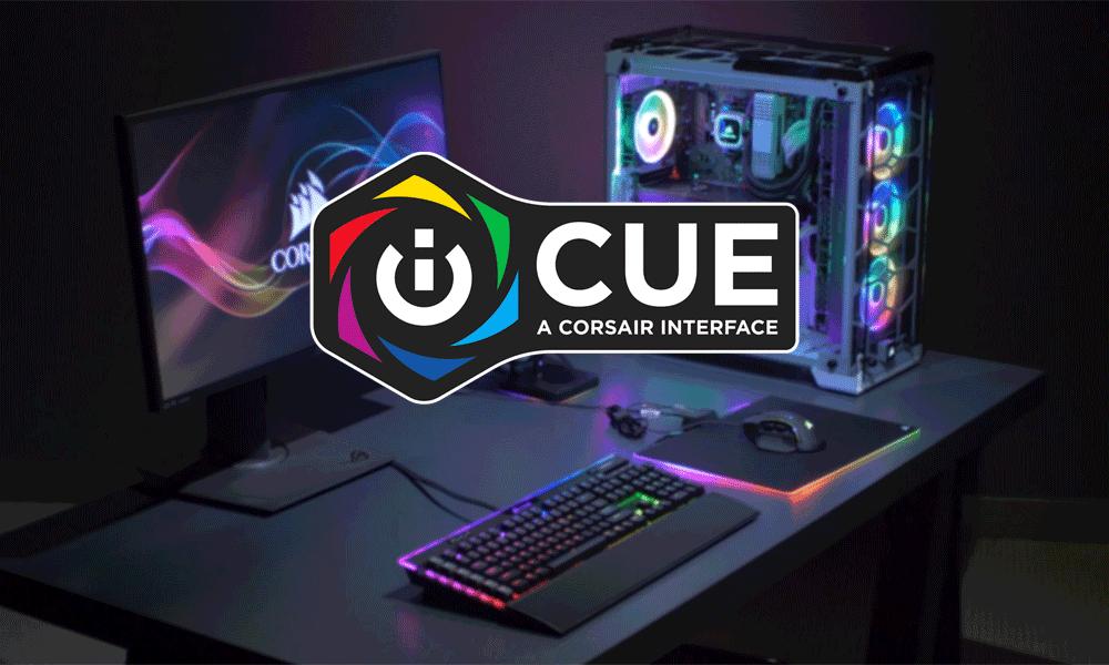 CORSAIR phát hành phần mềm iCUE cho MacOS