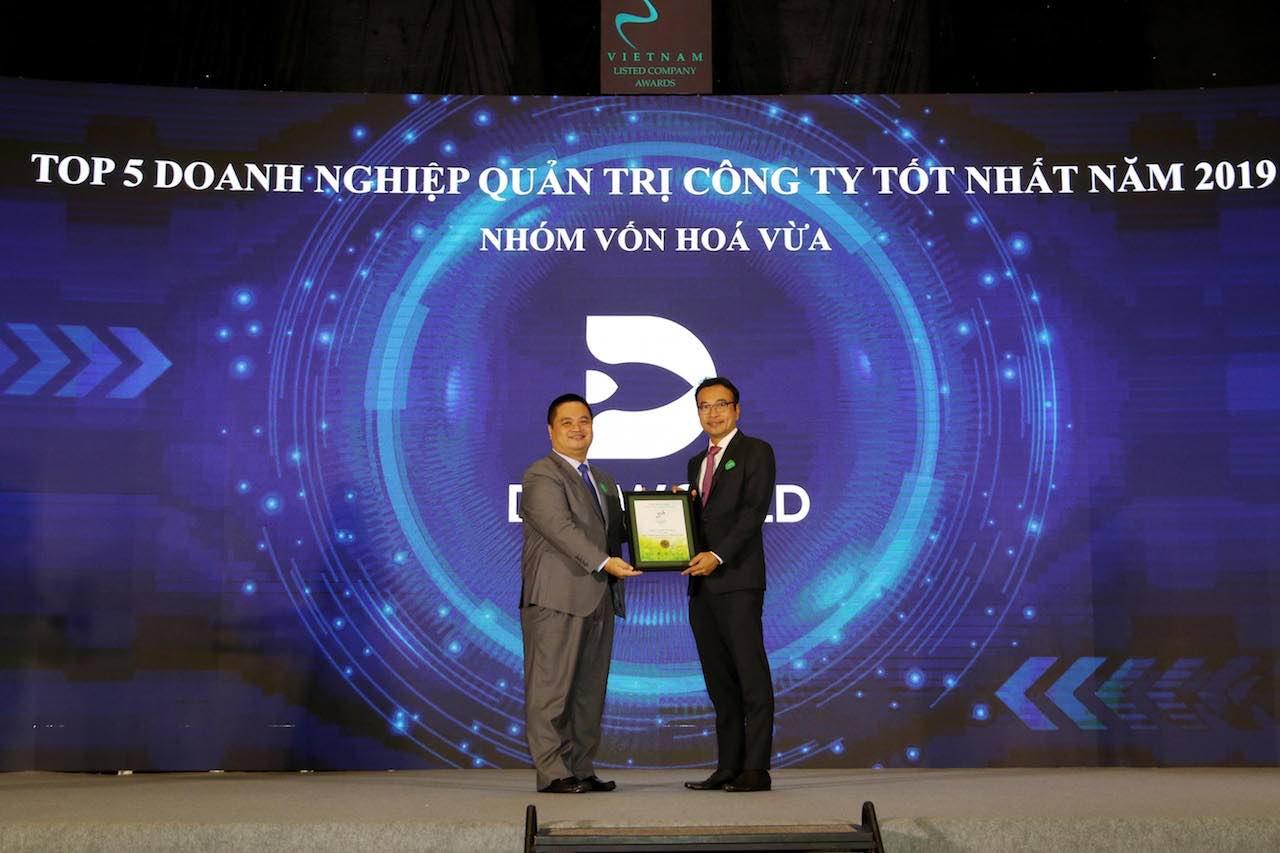 Digiworld vào top 5 doanh nghiệp quản trị công ty tốt nhất 2019