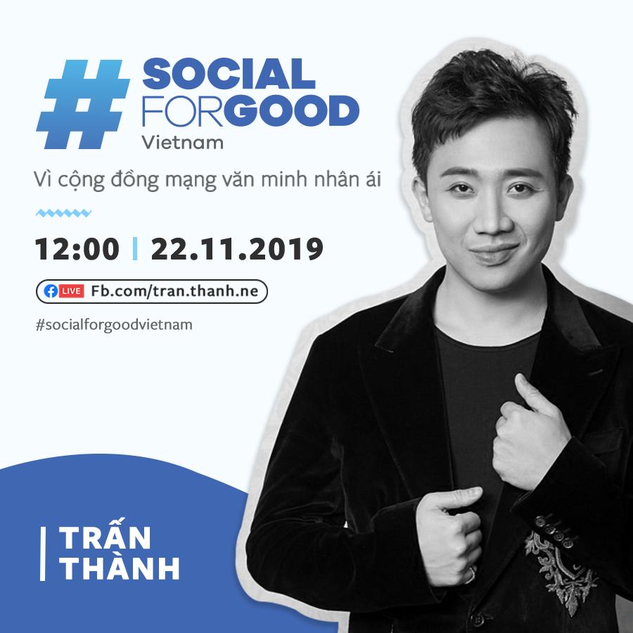 Facebook và Yeah1 tổ chức sự kiện #SocialForGood