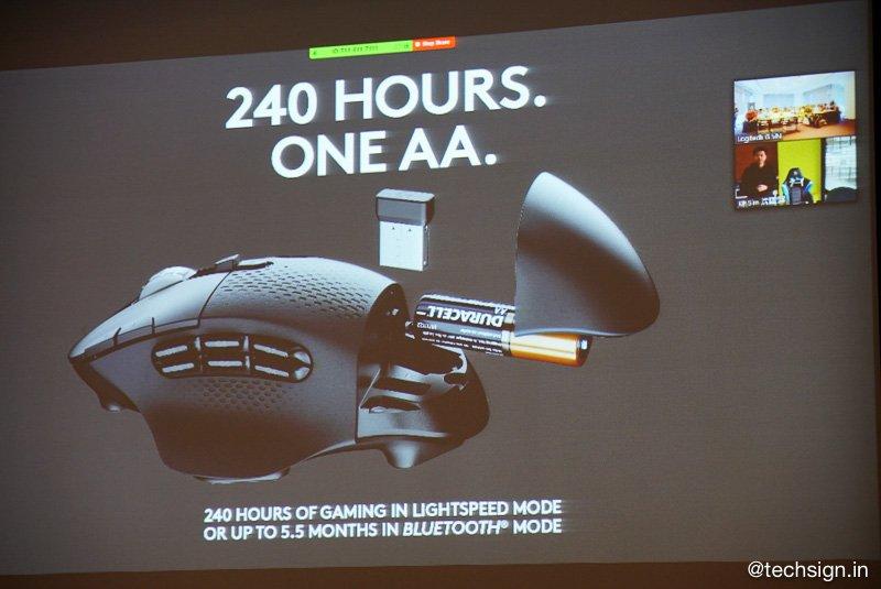 Logitech G ra mắt bàn phím cơ và chuột không dây cho game thủ