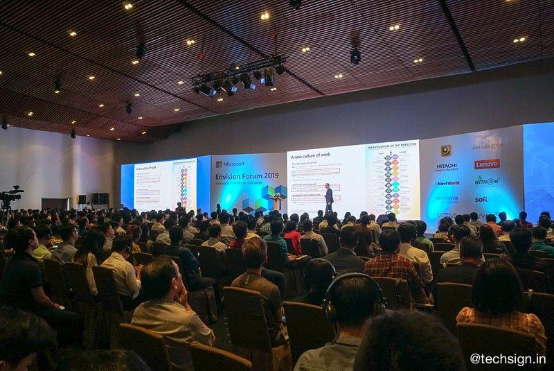 Microsoft Envision Forum, sự kiện giới thiệu các giải pháp đám mây cho doanh nghiệp