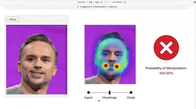 Phần mềm About Face của Adobe có thể phát hiện hình ảnh đã qua chỉnh sửa