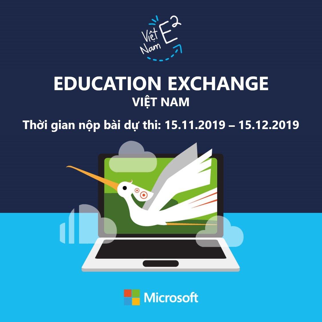 Phát động Microsoft Education Exchange 2020 tìm kiếm giáo viên sáng tạo toàn quốc