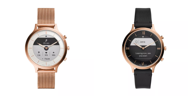 Ra mắt đồng hồ 'lai' Fossil Hybrid HR, có màn hình thông báo, pin 2 tuần