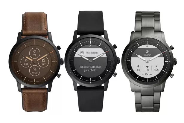 Ra mắt đồng hồ lai Fossil Hybrid HR có màn hình thông báo, pin 2 tuần