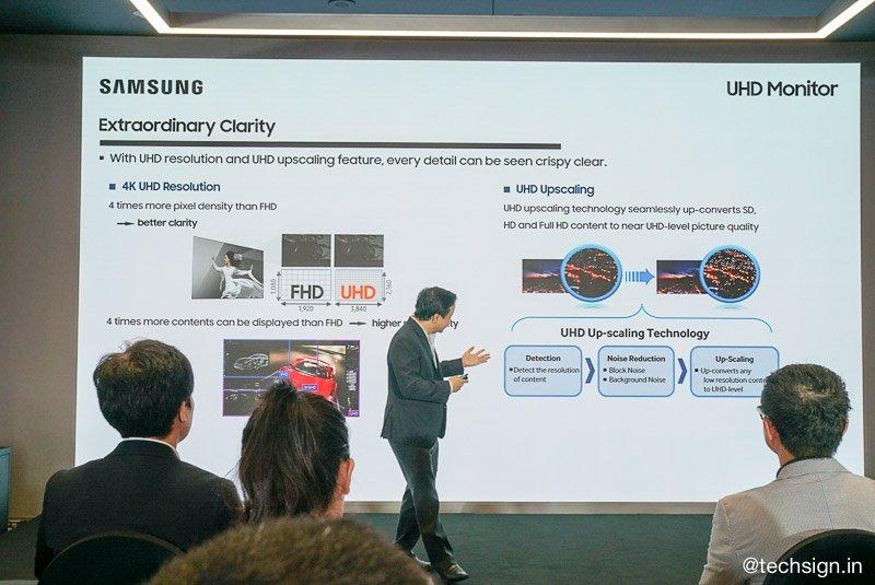 Ra mắt màn hình máy tính Samsung UHD LU28R550