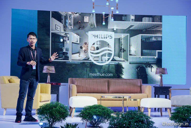 Signify ra mắt hệ thống chiếu sáng không dây cá nhân Philips Hue