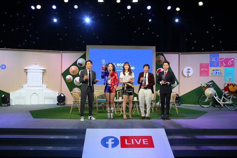 Chương trình #SocialForGood Live-athonthu hút 4 triệu lượt người xem